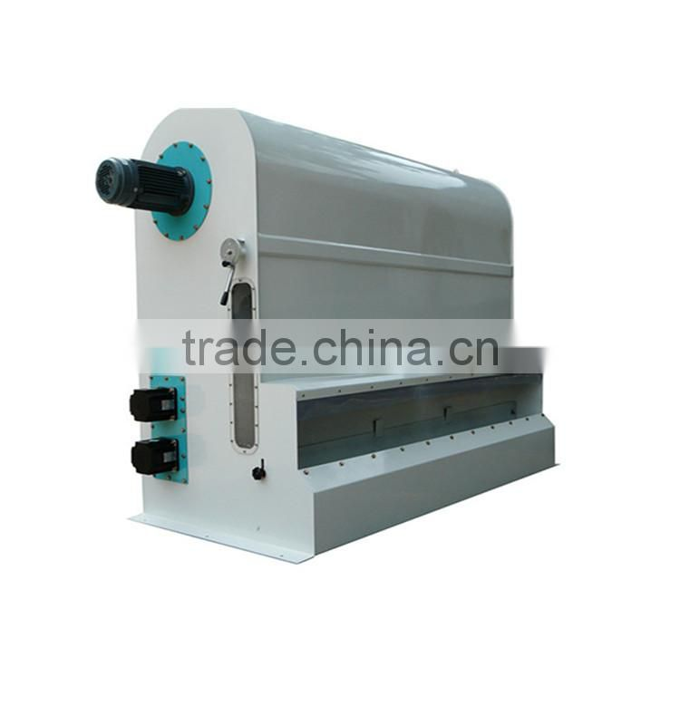 Wide usage flour mill removing light impurities cycling air separator
