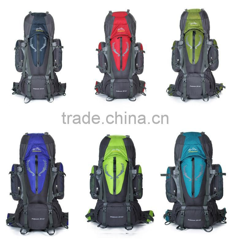 2015 new design sport mountaineering hiking backpack bag