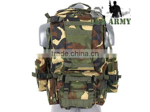 Brazil MILITARY 3-DAY ASSAULT PACK- WOODLAND