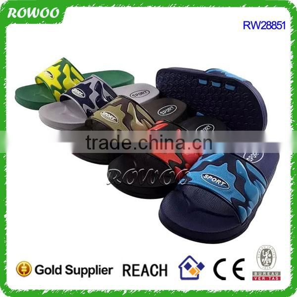 China Summer Wholesale indoor PVC home Flat slipper