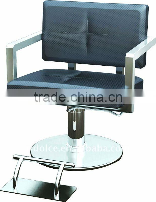 Round Base Modern Hydraulic barber chair hair cutting chairs with pedal wholesale barber supplies F-TKSS14