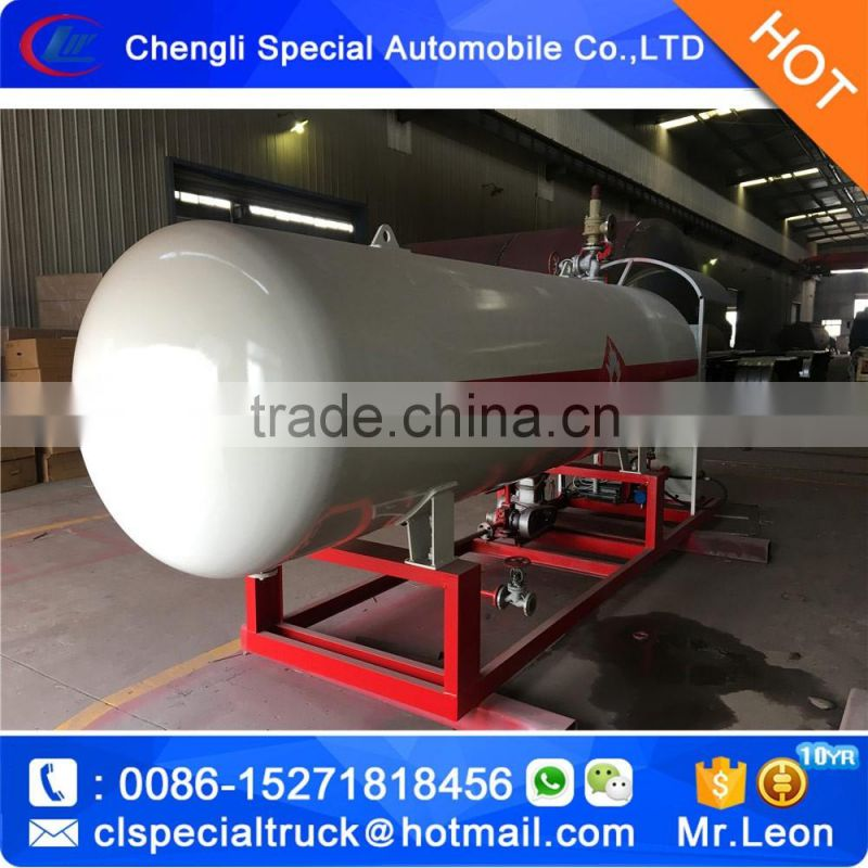 Cheapest home cylinders filling plant 2.5Ton mini Gas station LPG filling plant