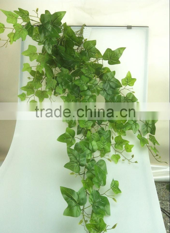Home garden outdoor decoration 3.28ft (100cm) Long artificial christmas green 5 branches reindeer metal vine rattan Elt10 2301