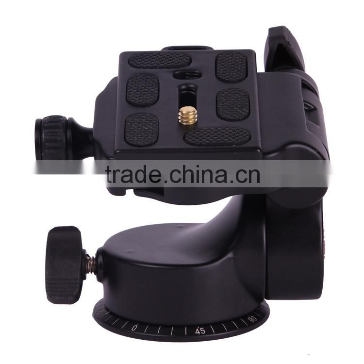 Heavy Duty 3D Q-08 Panoramic Head With Bubble Level For Camera