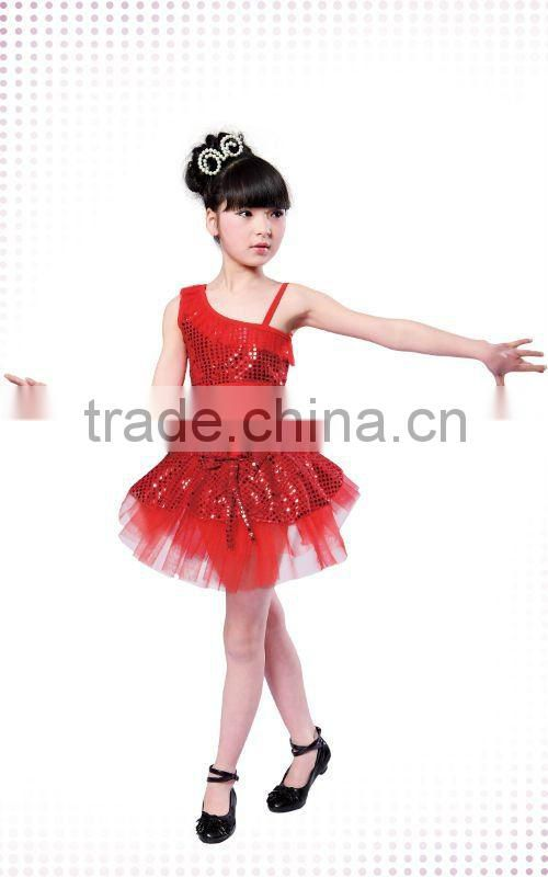 XC-013 Latest dress designs photos two pieces sequins new model girl dress