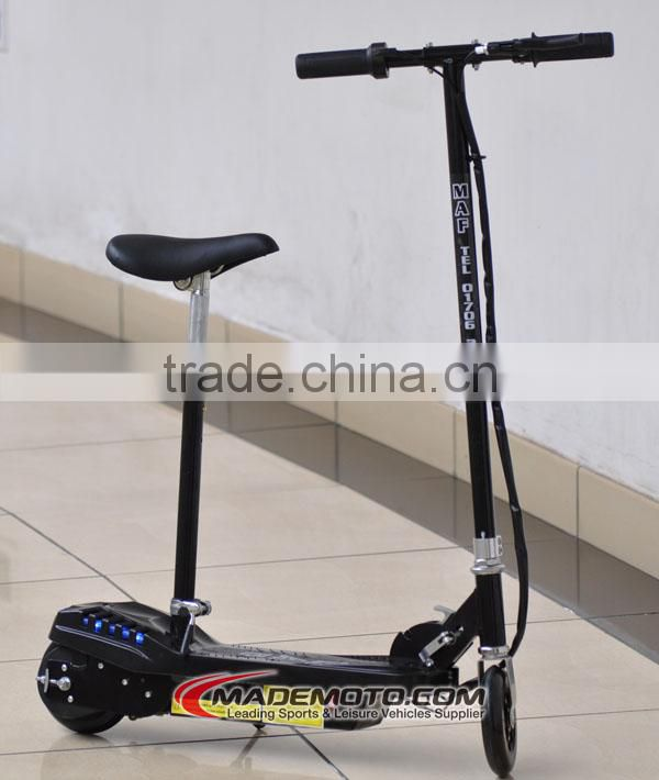 CE approved 120w 2wheel standing electric scooter for kids