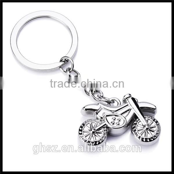 Custom cheap price cool metal van shape key rings supplier