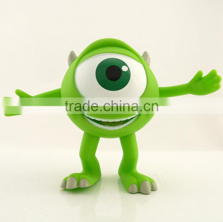 Monater University plastic figure toy, Custom plastic action figure,Hot toys action figure monster