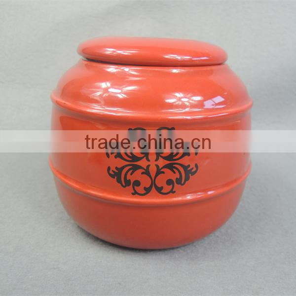 Ceramic Garden Cremation Urn for Adults