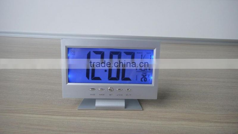 Weather station snooze light baby table projection clock