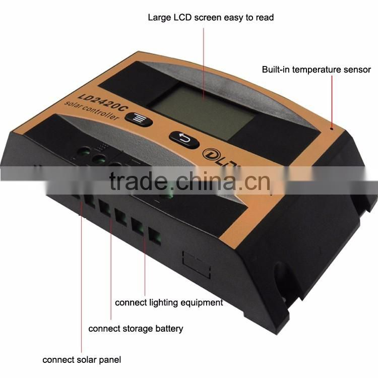 10A 12V solar charge controller with LCD screen PWM