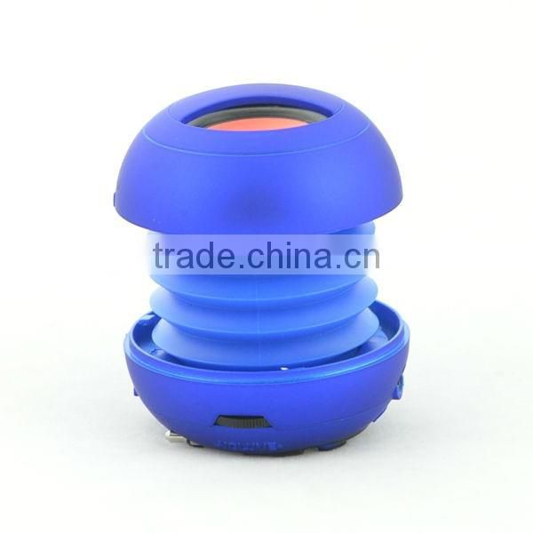 Fashionable cheap price hamburger mini speaker with CE ROHS FCC certificated