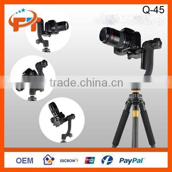 "Panoramic Gimbal Tripod Head Q-45 Specialized1/4""Screw For Telephoto Len Camera"