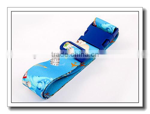 Latest customed logo luggage belt ,digital lock luggage belt for wholesale