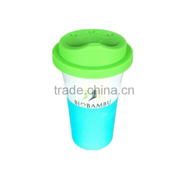Natural Ecological Compostable bamboo fiber coffee mug cup