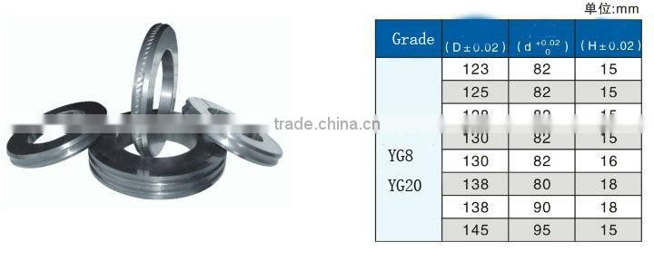 zhuzhou Smooth coating durable cemented carbide rolls