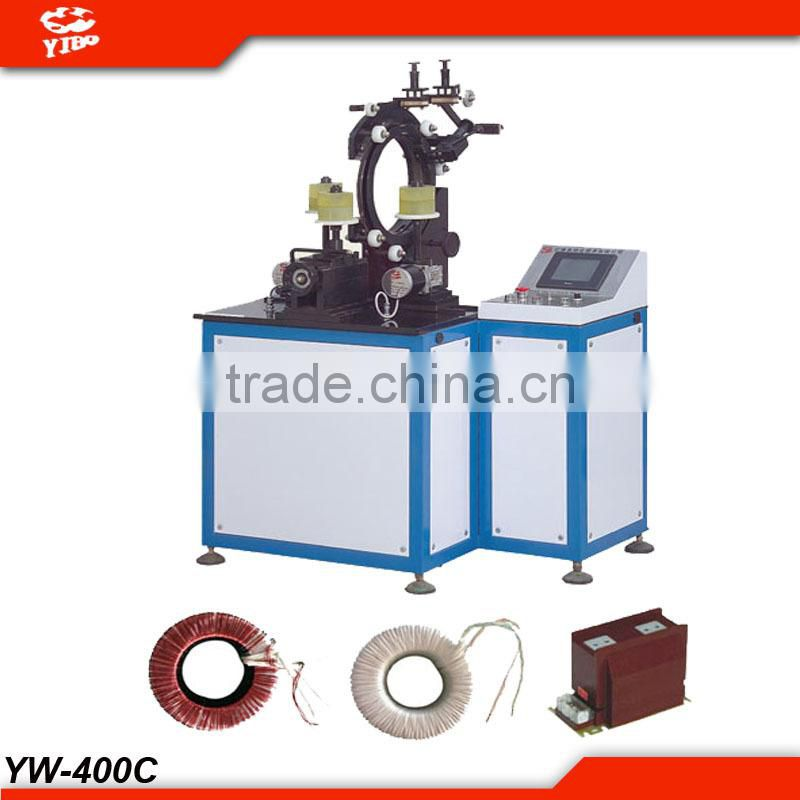 Professional manufacturer of CT winding machine transformer coil winder YW-400C