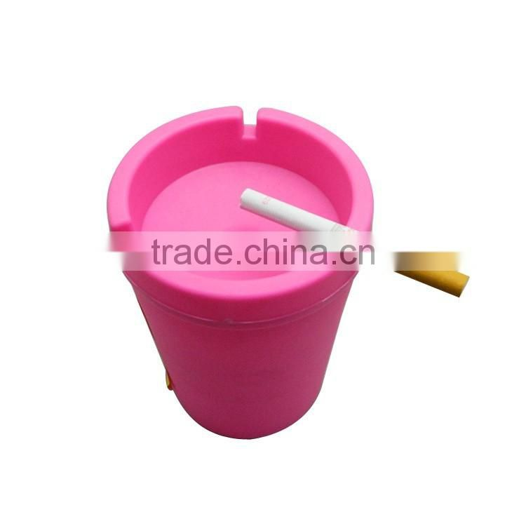 portable car ash tray for car high quality plastic ashtray portable ashtry multi-color car ashtray ash tray