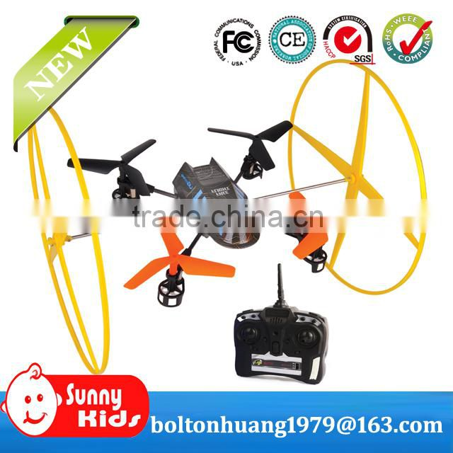 2.4ghz mini rc quadcopter intruder ufo with high quality