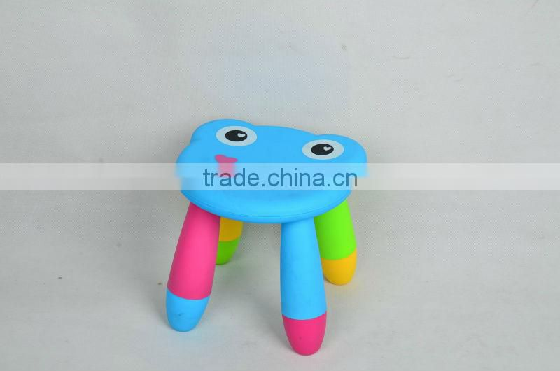 big size frog shape assemble step stool chair