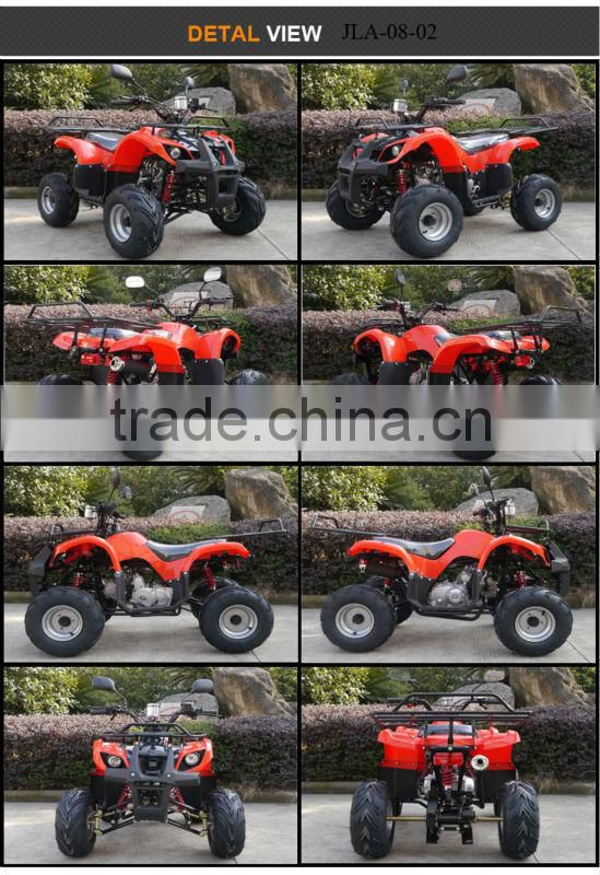 Jinling JLA-08-03 automatic chain drive air cooled green cheap price 49cc mini quad bike for sale