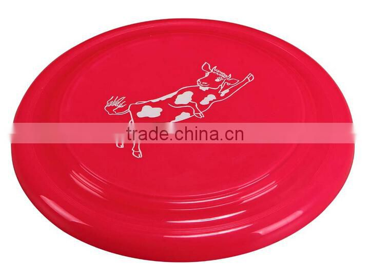 New Product China Factory Eco-friendly 9 inch Wholesale Plastic Frisbee