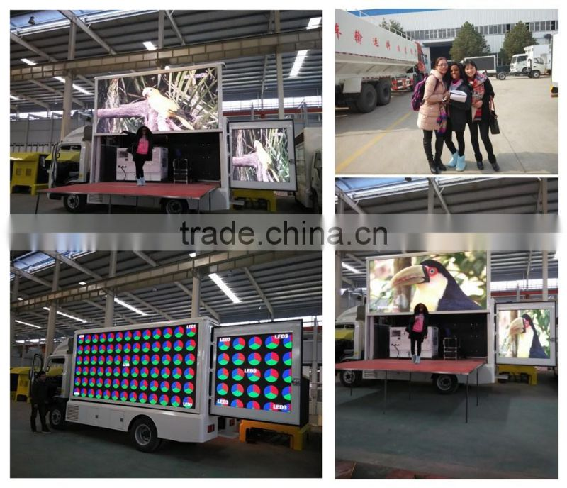 Outdoor P10 Mobile Truck/trailer Led Display For Advertising