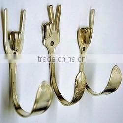 hang alphabet metal craft shiny hangers