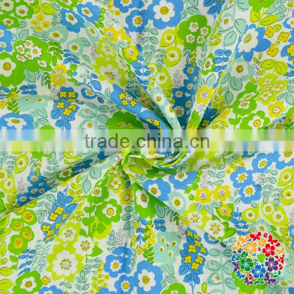 Printed Pattern and Woven Technics cotton fabric printed
