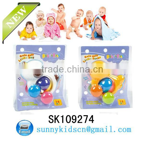 Small baby kids bell rattle toy