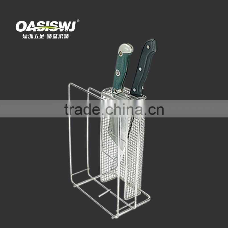 2016 high quality stainless steel knife display stand