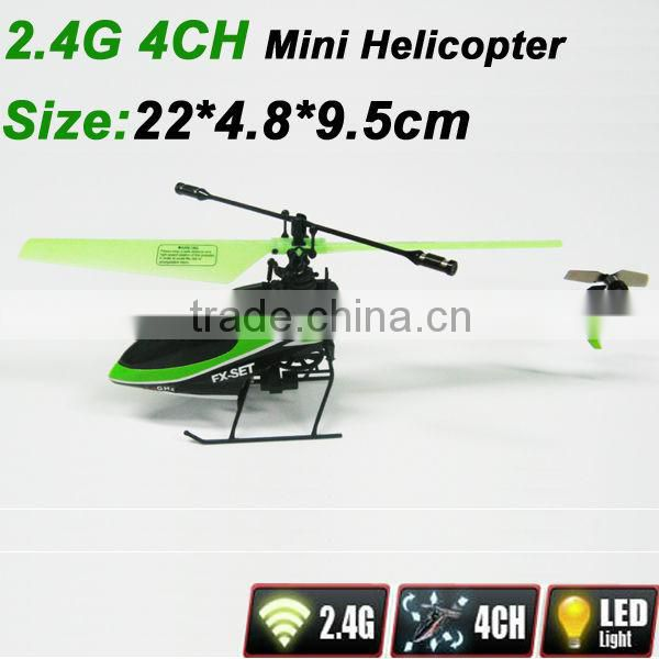 rc helicopters wholesale 2.4G RC 4CH Mini Helicopter rc helicopter long fly time