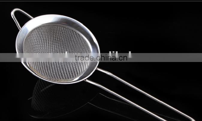 Fine Mesh Strainer Flour Sifter and Tea Strainer Different Size