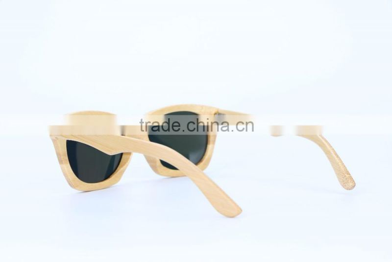 2015 Fashion Wooden sunglasses from glasses factory 3025