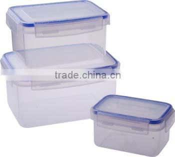 Competitive Price lock plastic food container from china