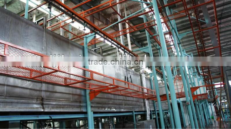 Coating complete production line,aluminium powder coating machine for metal sheet