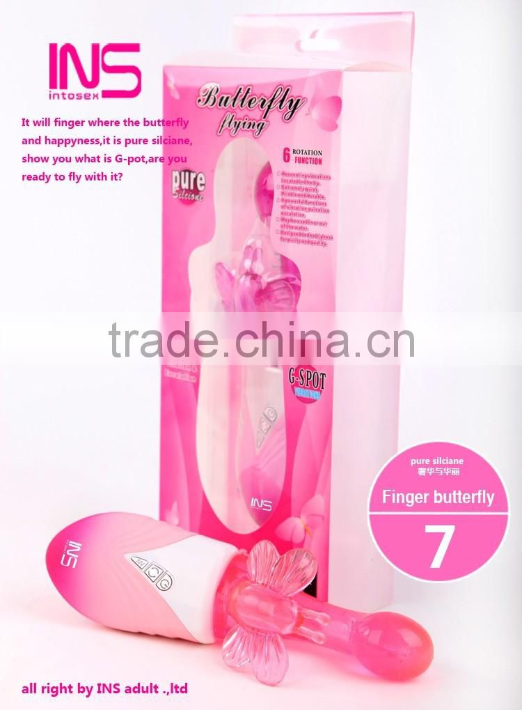 2016 New Sex toy butterfly vibrator for women