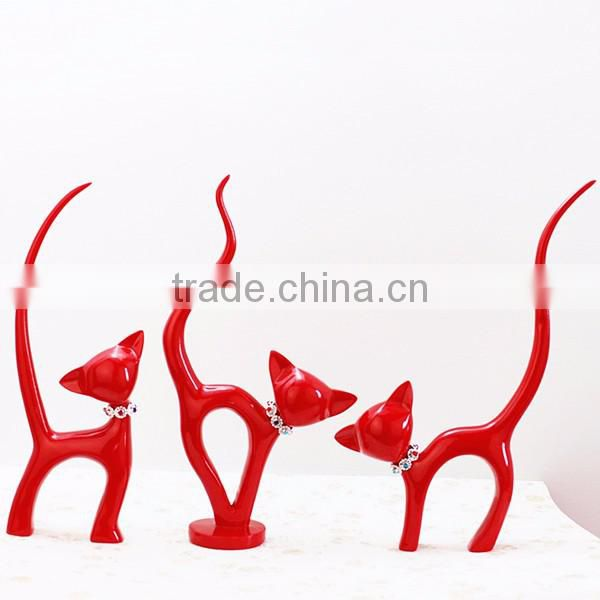 Wedding gifts lovely dancing lucky cat figurine craft