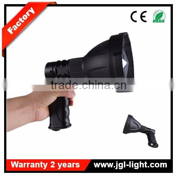 Guangzhou portable rechargeable led super bright outdoor lighting brightest handheld spotlight NFC96-25w
