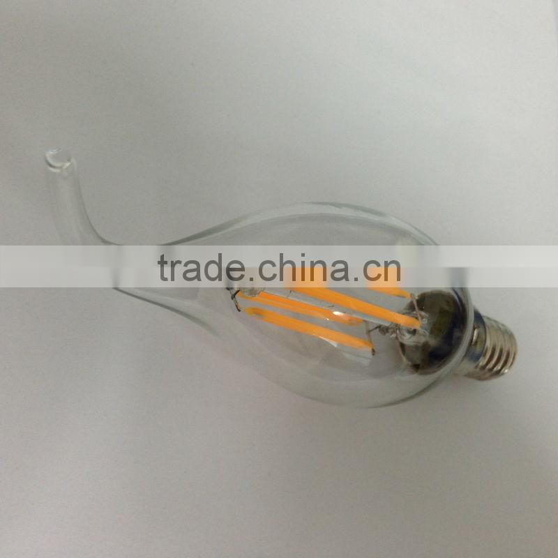 2014 new hot small battery led magic candle light, led candle bulb light