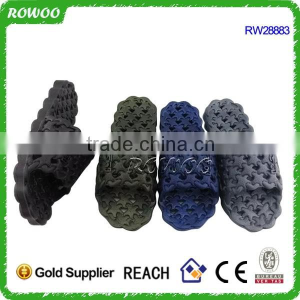New design Home PVC Air Blow Beach slipper for men