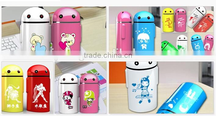 2015 unique Android shape power bank 5200mAh