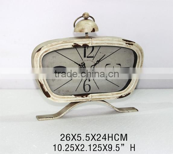 Hot Sell Promotional Gift Old Table Clock