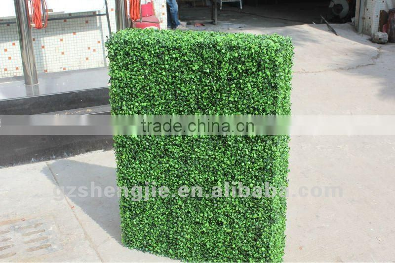 2012 new design artificial hedge for decoration