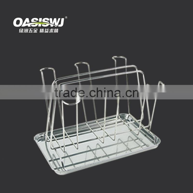 kitchen rack factory Metal Glass Cup Holder
