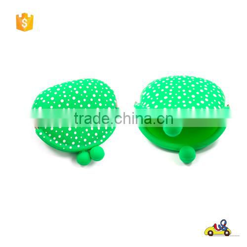 Manufacturer wholesale price coin purse/silicone coin purse for gift