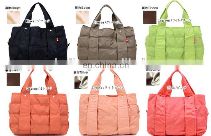 Wholesale nylon and drawstring shopping tote bag in stock from factory