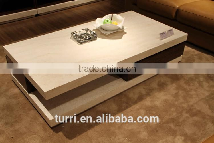 Italian Rectangle Marble Base For Coffee Table