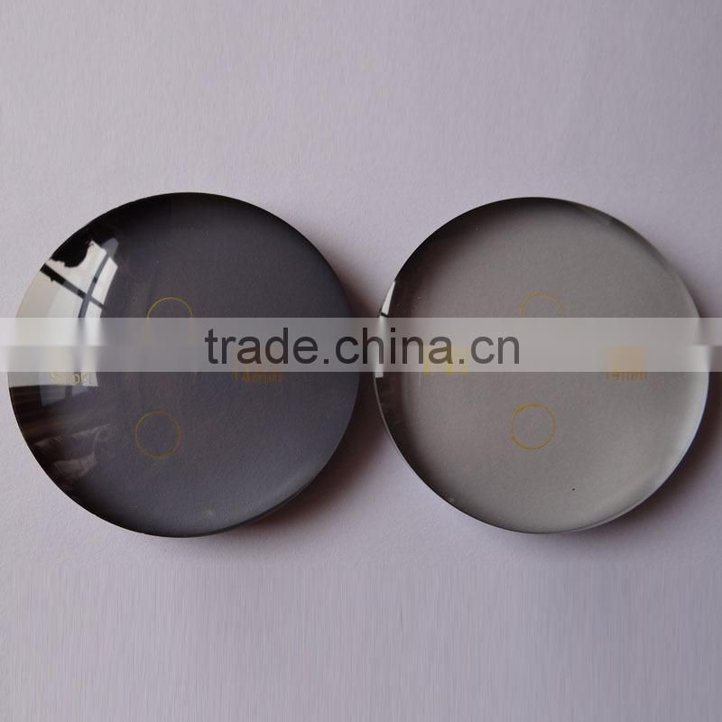 Cr39 resin 1.56 photo grey optical lens for eyeglasses (CE, FDA, Factory)