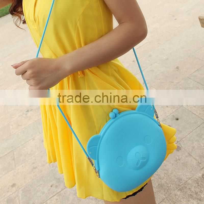 Promotion! Hot Sale Fashional Design Silicone Bag,Silicone Beach Bag,Silicone Shoulder Bag